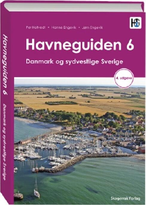Havneguiden 6 Danmark Og Sydvestlige Sverige, 4 Utgave - Per Hotvedt - Bog