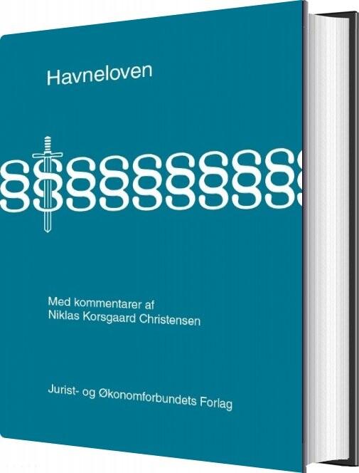 Image of   Havneloven Med Kommentarer - Niklas Korsgaard Christensen - Bog