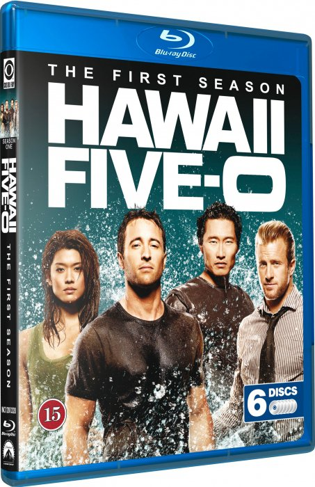 Hawaii Five-0 - Sæson 1 - Remake - Blu-Ray - Tv-serie