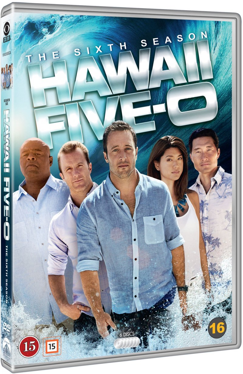 Image of   Hawaii Five-0 - Sæson 6 - Remake - DVD - Tv-serie