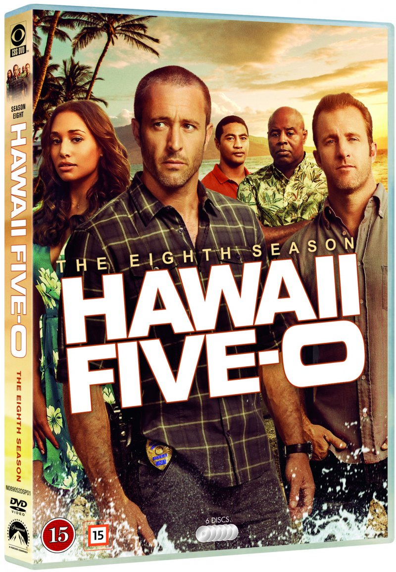 Image of   Hawaii Five-0 - Sæson 8 - Remake - DVD - Tv-serie