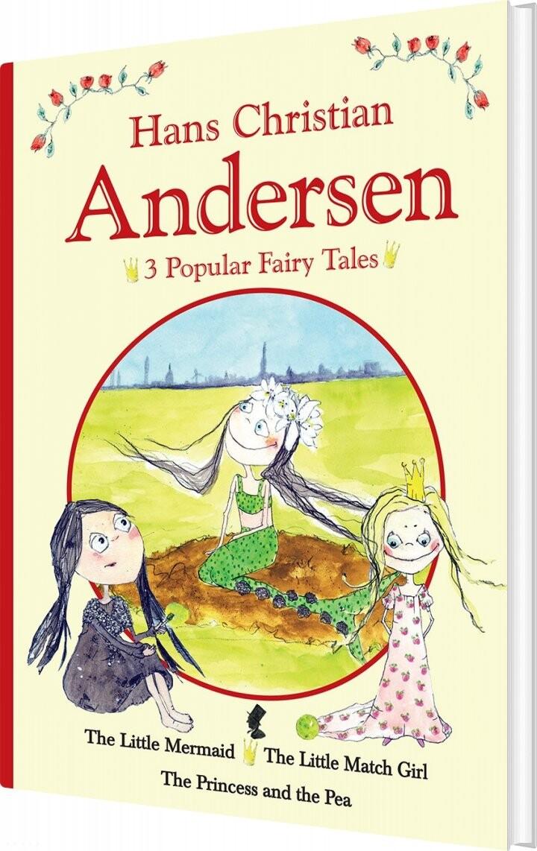 Image of   H.c. Andersen - 3 Popular Fairy Tales I - H.c. Andersen - Bog