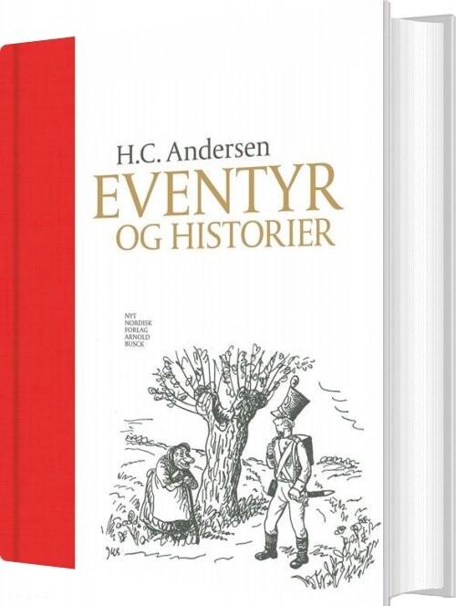 Image of   H.c. Andersen Eventyr Og Historier - Hans Christian Andersen - Bog