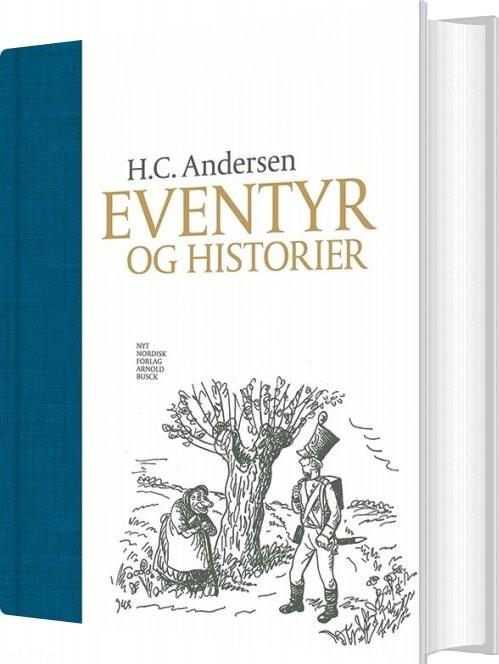 Image of   H.c. Andersen Eventyr Og Historier - Herluf Jensenius - Bog