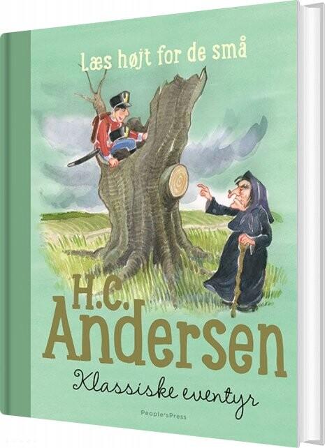 Image of   H.c. Andersen - Klassiske Eventyr - H.c. Andersen - Bog