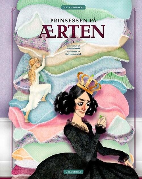 Image of   H.c. Andersens Prinsessen På ærten - Solveig Agerbak - Bog