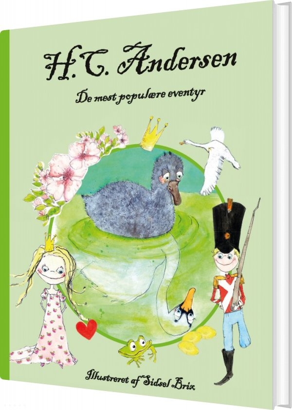 Image of   H.c. Andersen - De Mest Populære Eventyr - H.c. Andersen - Bog