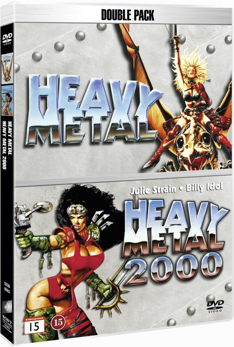 Billede af Heavy Metal The Movie - 1981 // Heavy Metal 2000 - DVD - Film