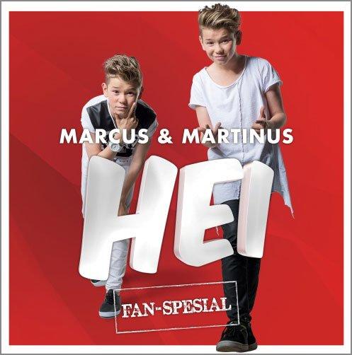 Image of   Marcus Og Martinus - Hei - Fan-spesial - CD