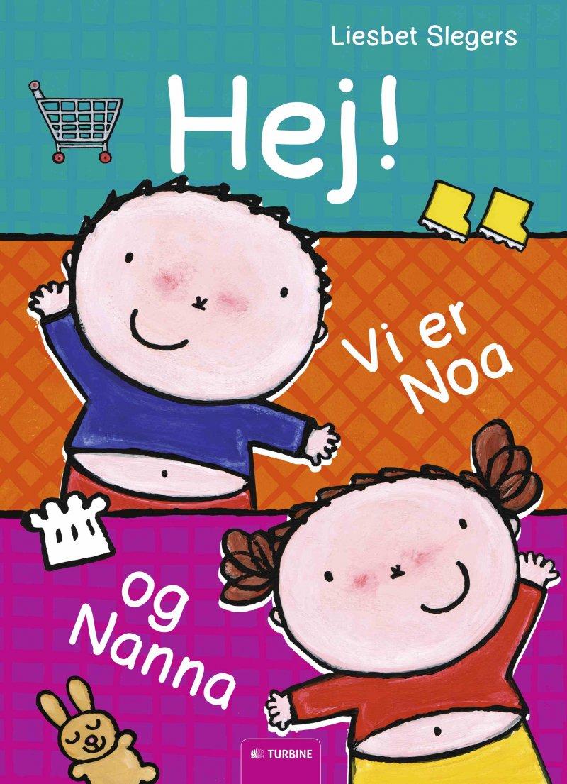 Image of   Hej! Vi Er Noa Og Nanna - Liesbet Slegers - Bog