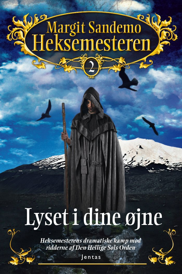 Image of   Heksemesteren 2 - Lyset I Dine øjne - Margit Sandemo - Cd Lydbog