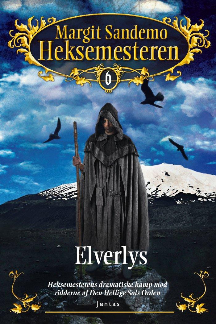 Image of   Heksemesteren 6 - Elverlys, Mp3 - Margit Sandemo - Cd Lydbog