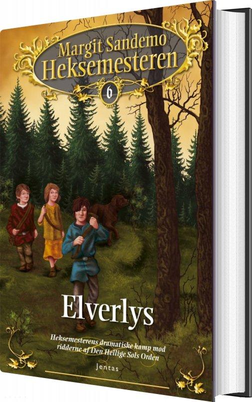Image of   Heksemesteren 6 - Elverlys - Margit Sandemo - Bog