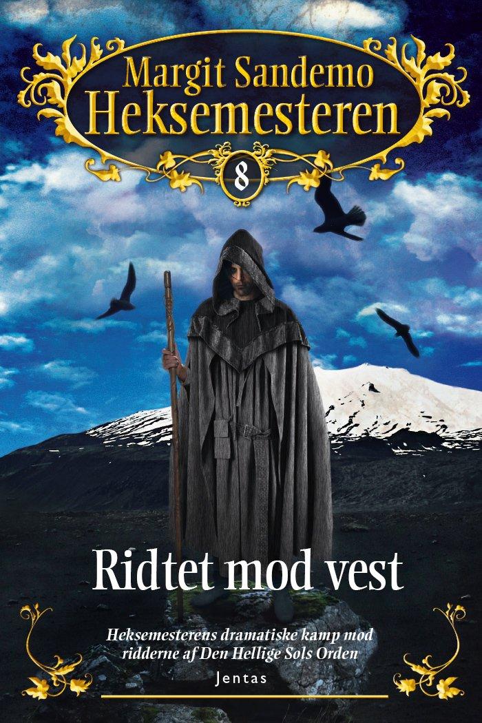 Image of   Heksemesteren 8 - Ridtet Mod Vest, Mp3 - Margit Sandemo - Cd Lydbog