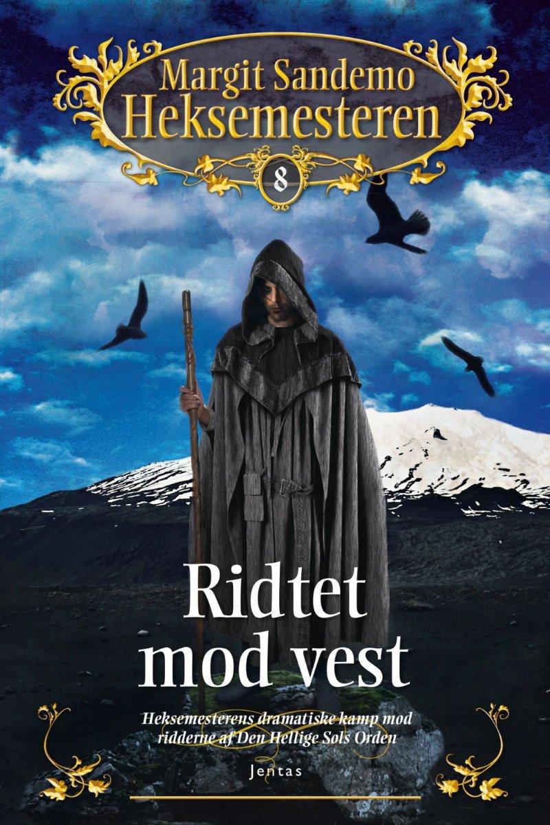 Image of   Heksemesteren 8 - Ridtet Mod Vest - Margit Sandemo - Cd Lydbog