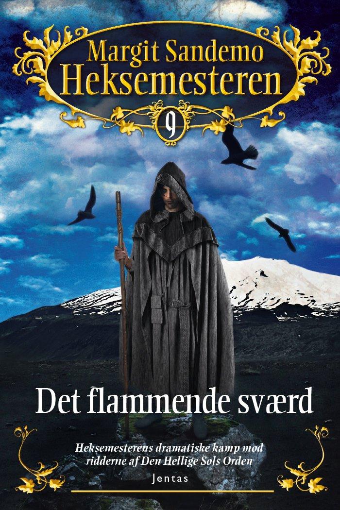Image of   Heksemesteren 9 - Det Flammende Sværd - Margit Sandemo - Cd Lydbog