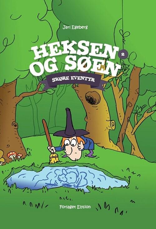 Image of   Heksen Og Søen - Jarl Egeberg - Bog