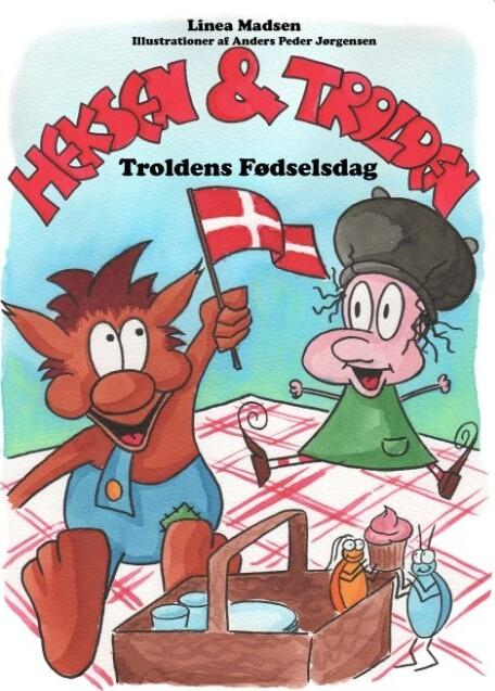 Image of   Heksen Og Trolden - Linea Madsen - Bog