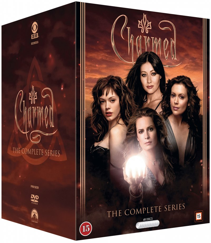 Image of   Charmed / Heksene Fra Warren Manor - Komplet Box - DVD - Tv-serie