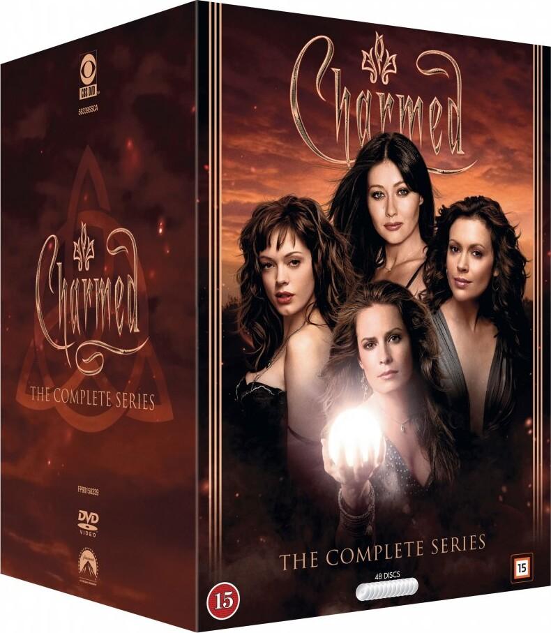 Image of   Charmed / Heksene Fra Warren Manor - Komplet Box - DVD - Tv-serie