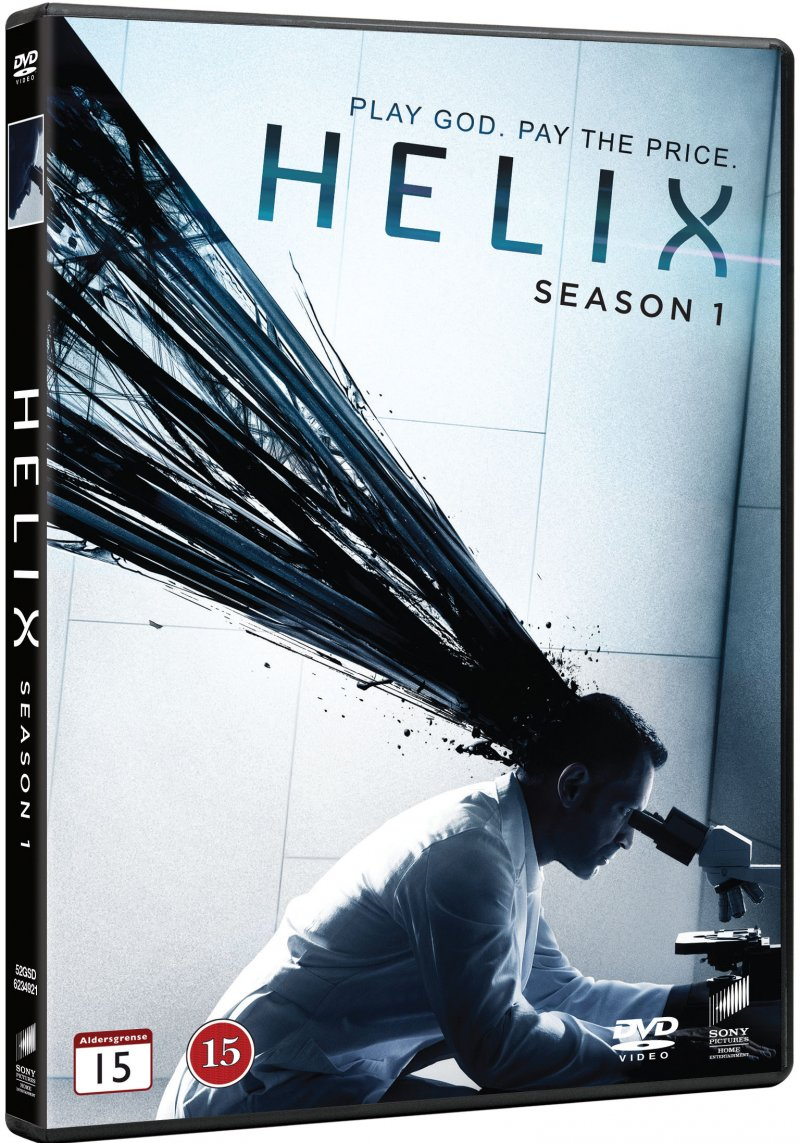 Image of   Helix - Sæson 1 - DVD - Tv-serie