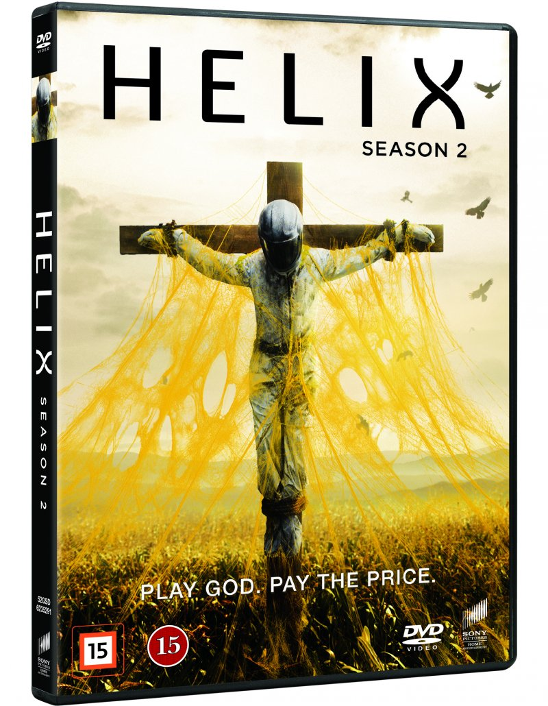 Image of   Helix - Sæson 2 - DVD - Tv-serie