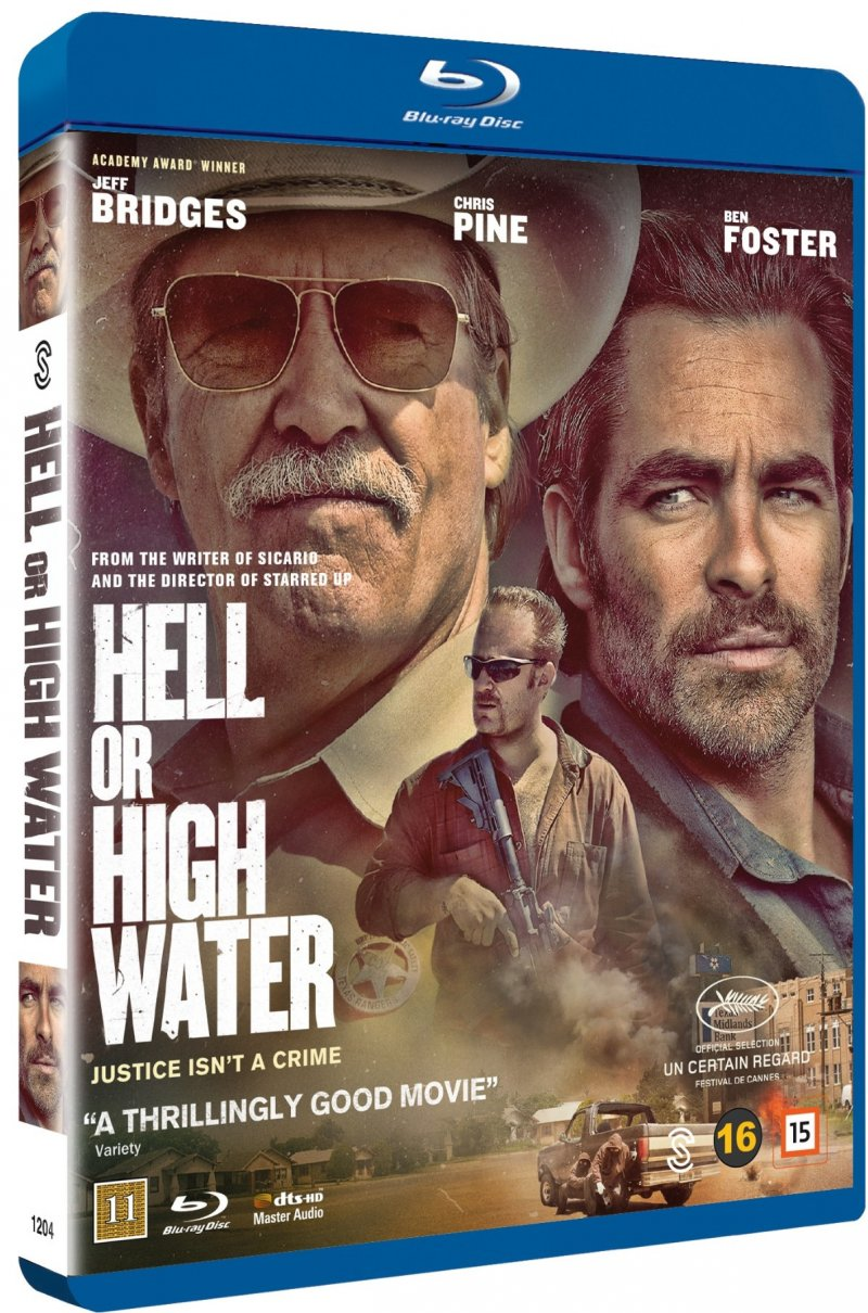 Image of   Hell Or High Water - Blu-Ray