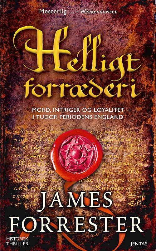 Image of   Helligt Forræderi - James Forrester - Cd Lydbog