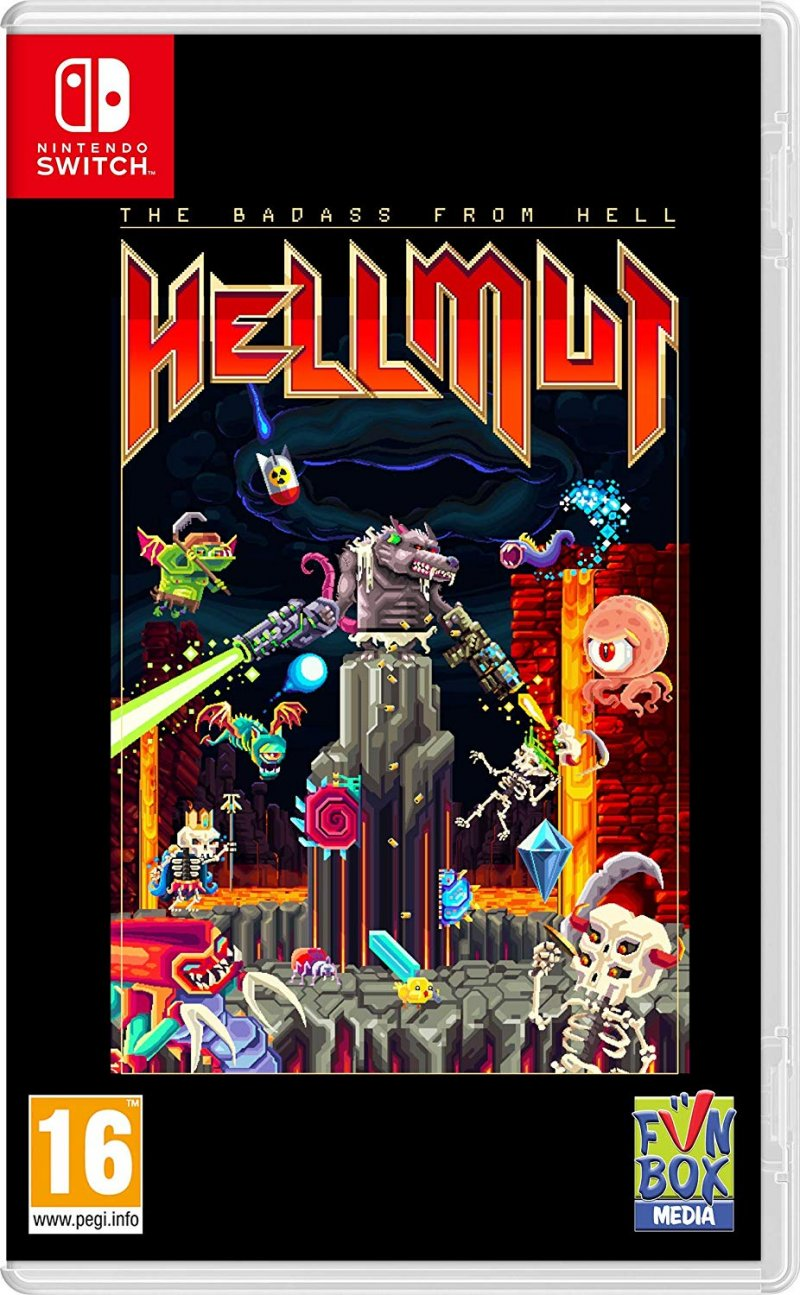 Image of   Hellmut: The Badass From Hell - Nintendo Switch