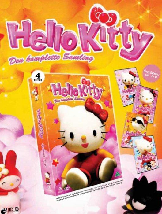 Billede af Hello Kitty 1-4 - Den Komplette Samling - DVD - Film