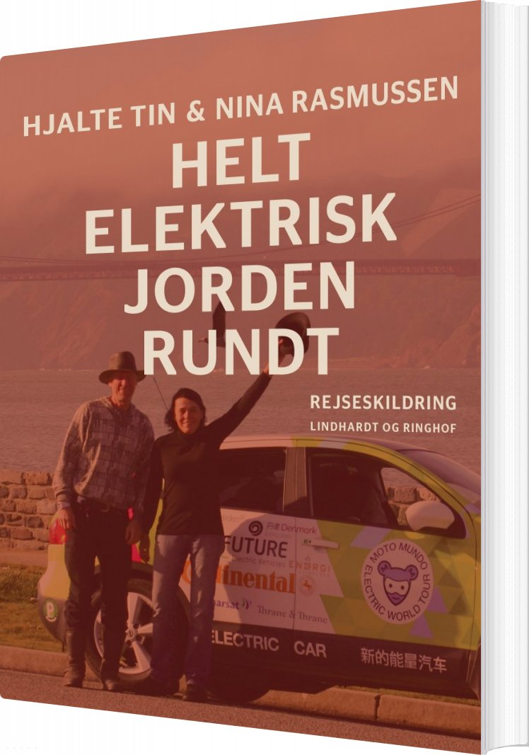 Image of   Helt Elektrisk Jorden Rundt - Nina Rasmussen - Bog