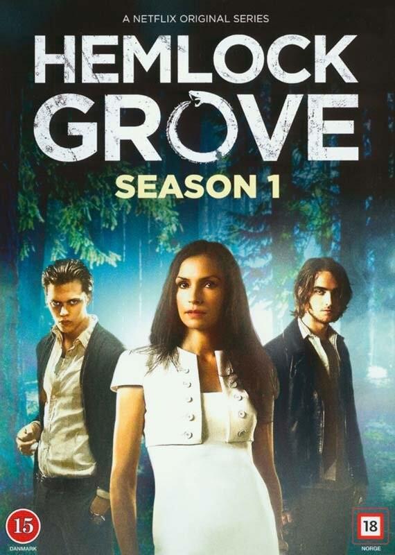 Image of   Hemlock Grove - Sæson 1 - DVD - Tv-serie