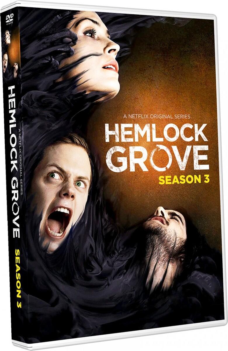Image of   Hemlock Grove - Sæson 3 - DVD - Tv-serie