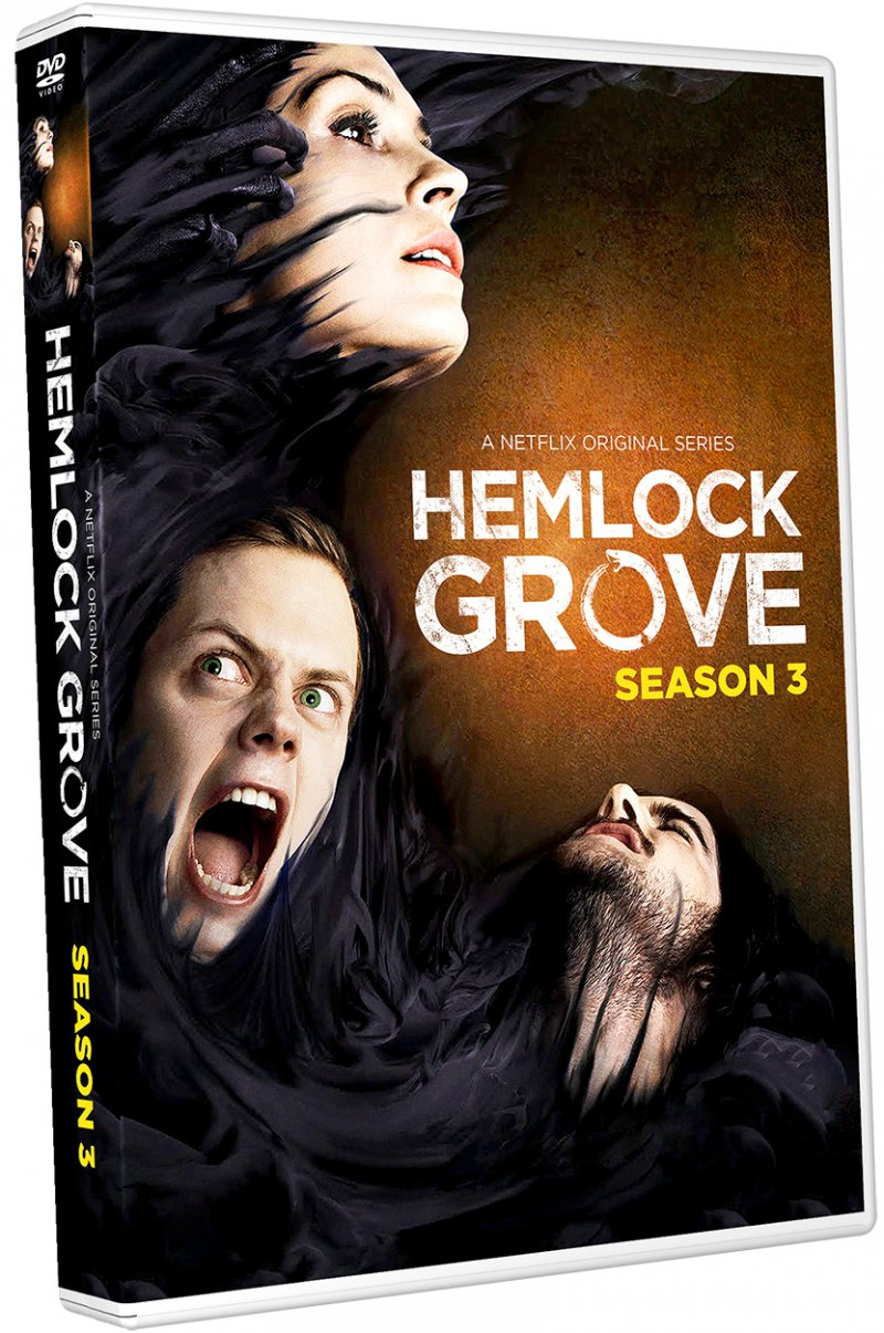 Image of   Hemlock Grove - Sæson 3 - DVD - Tv-serie