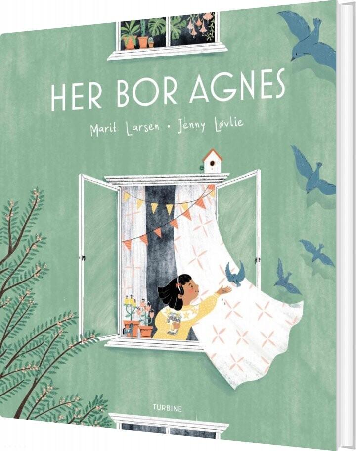 Image of   Her Bor Agnes - Marit Larsen - Bog