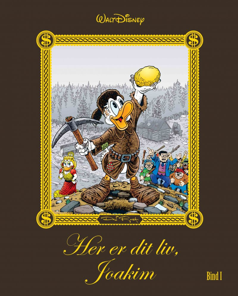 Image of   Her Er Dit Liv, Joakim - Bind 1 - Don Rosa - Tegneserie