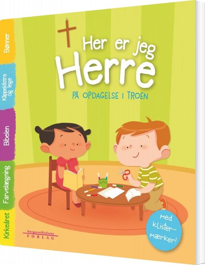 Image of   Her Er Jeg, Herre - Sophie De Mullenheim - Bog