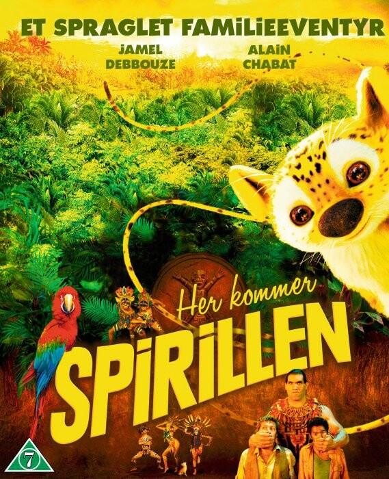 Image of   Her Kommer Spirillen - Et Spraglet Familieeventyr - Blu-Ray
