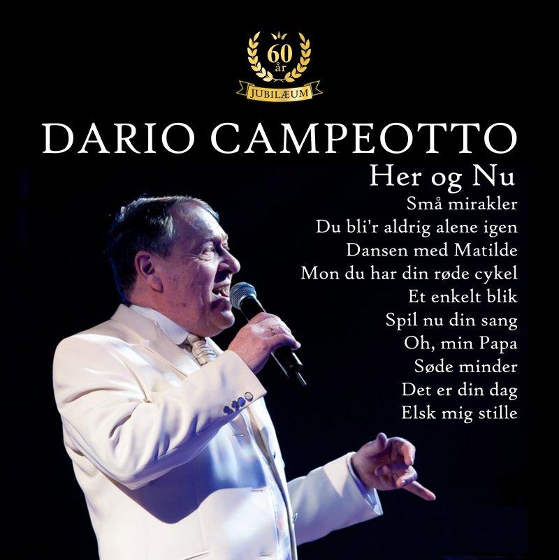 Image of   Dario Campeotto - Her Og Nu - CD