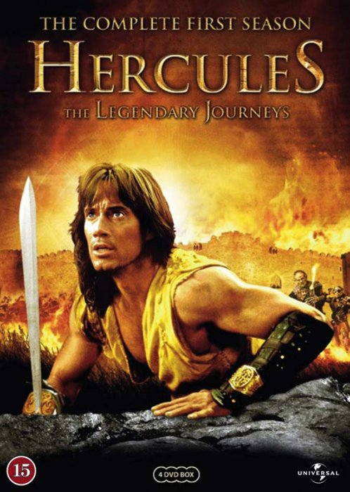 Image of   Hercules - The Legedary Journeys - Sæson 1 - DVD - Tv-serie