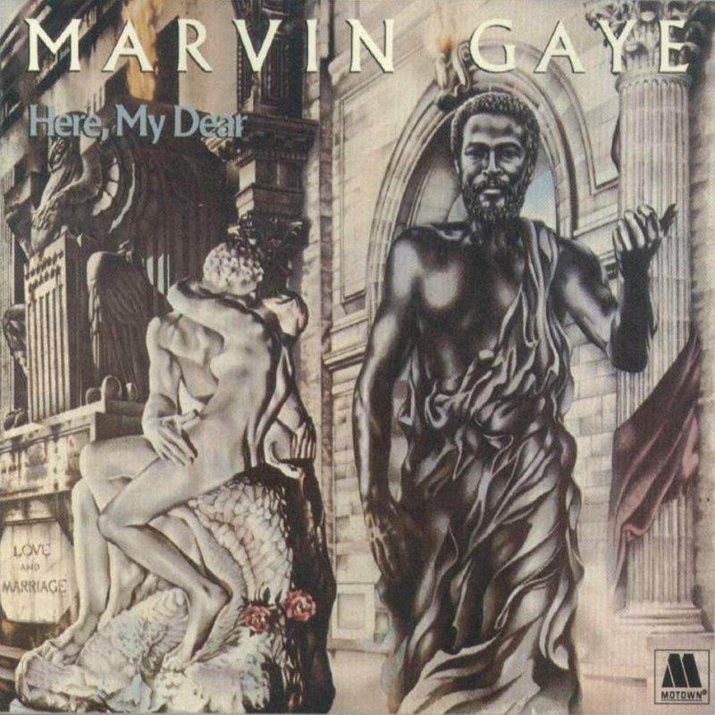 Image of   Gaye Marvin - Here, My Dear - Vinyl / LP
