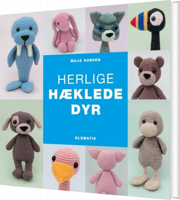 Image of   Herlige Hæklede Dyr - Maja Hansen - Bog