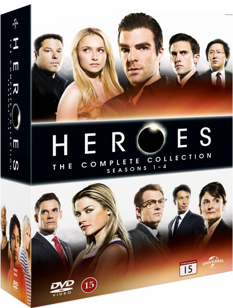 Image of   Heroes Complete Series - DVD - Tv-serie