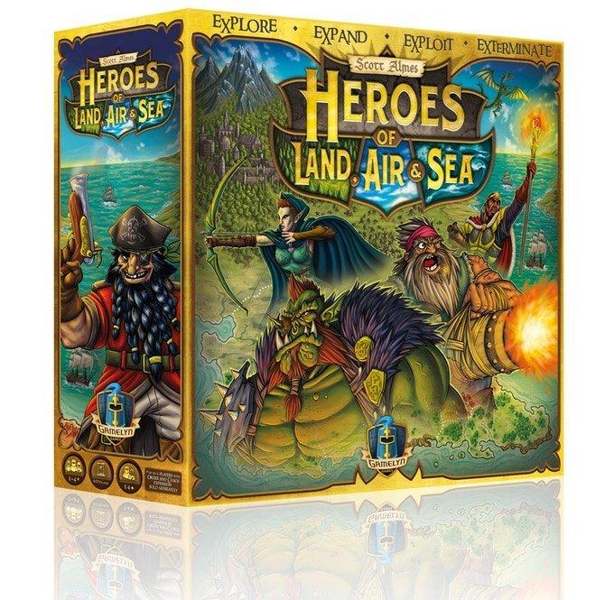 Heroes Of Land, Air & Sea - Brætspil