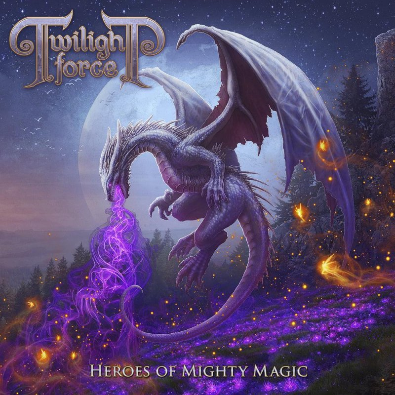 Twilight Force - Heroes Of Mighty Magic 2lp Black - Vinyl / LP