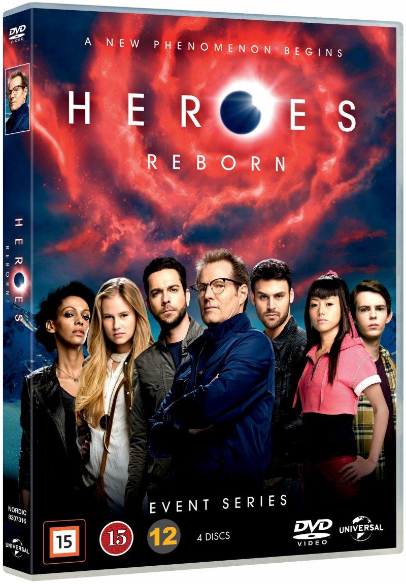 Image of   Heroes Reborn - Sæson 1 - DVD - Tv-serie