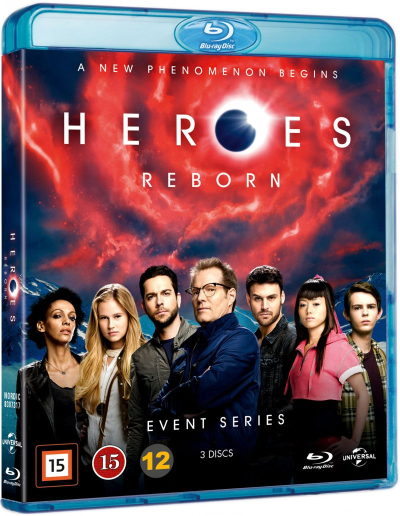 Image of   Heroes Reborn - Sæson 1 - Blu-Ray - Tv-serie