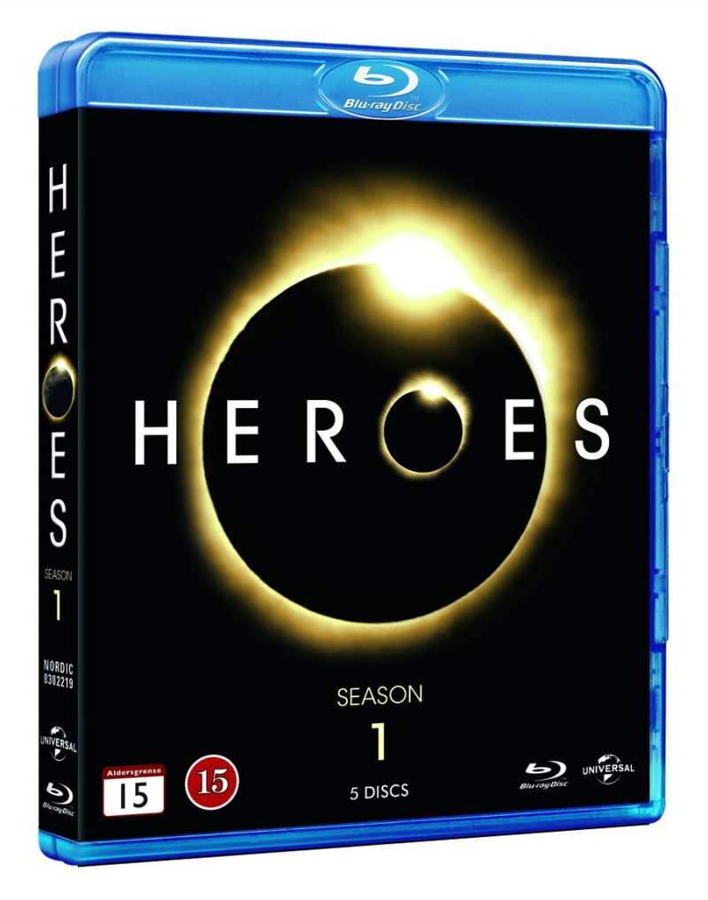 Image of   Heroes - Sæson 1 - Blu-Ray - Tv-serie