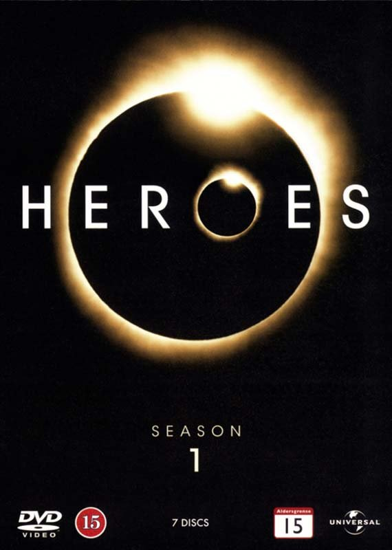 Image of   Heroes - Sæson 1 - DVD - Tv-serie