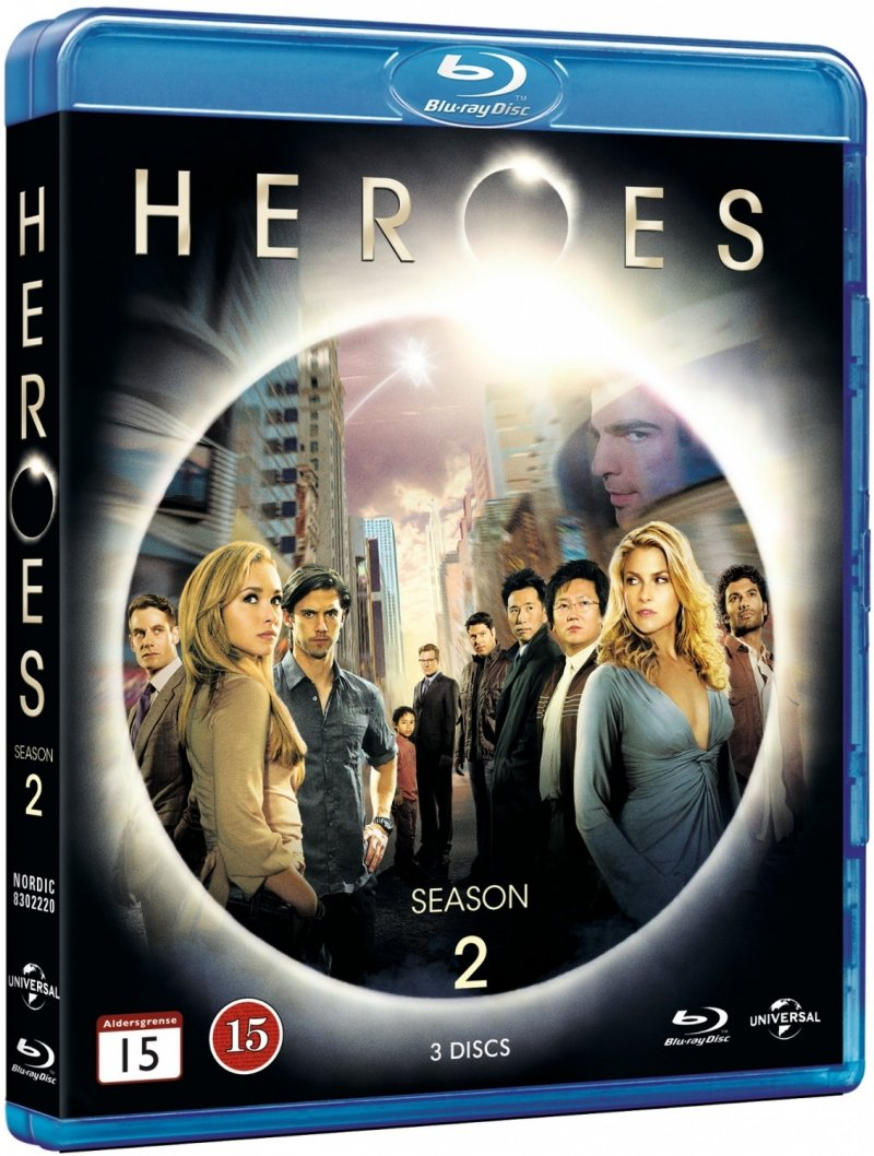 Image of   Heroes - Sæson 2 - Blu-Ray - Tv-serie